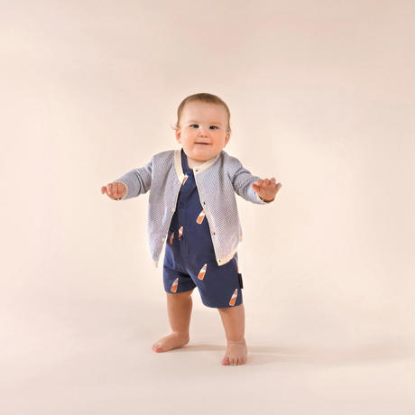 "tinycottons ""SODA  BOTTLE""  ROMPER"