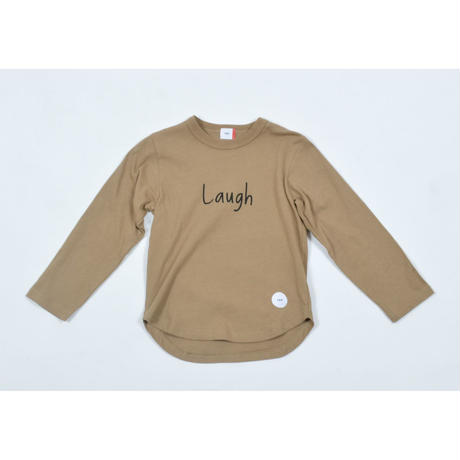 FOV LAUGH L/S Tシャツ(キャメル)