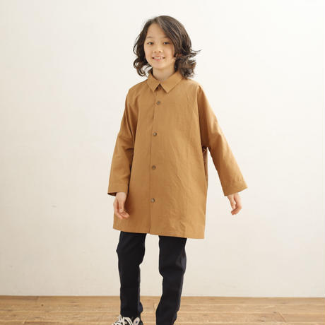 ARCH&LINE 9/S WIDE LONG SHIRT(BEIGE)