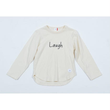 FOV LAUGH L/S Tシャツ(クリーム)