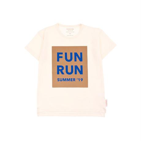 """tinycottons """"FUN  RUN""""SS TEE"""