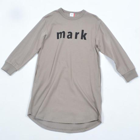 FOV   mark  L/S ワンピース(アッシュグレー)