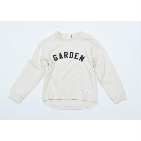 FOV GARDEN L/S Tシャツ(クリーム)