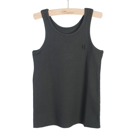 little HEDONIST   TANKTOP MADDY (Pirate Black)