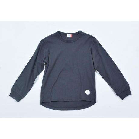 FOV PLAIN L/S Tシャツ(チャコールグレー)