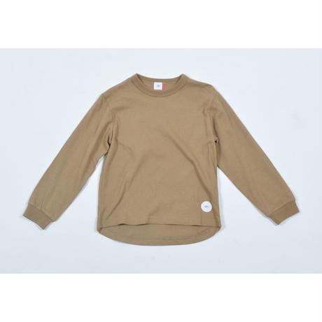 FOV PLAIN L/S Tシャツ(キャメル)