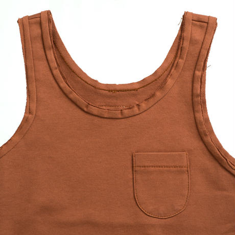Little HEDONIST TANKTOP   LILY(MOCHA)SIZE98.110.122