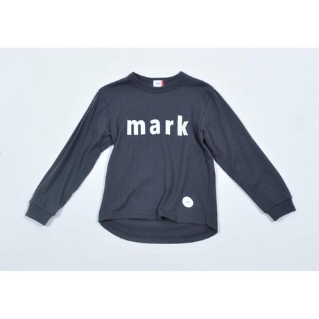 FOV mark L/S Tシャツ(チャコールグレー)