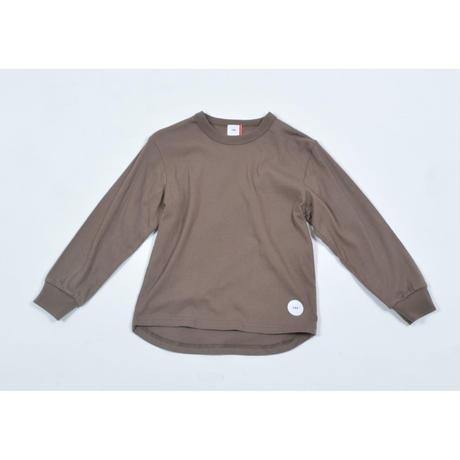 FOV PLAIN L/S Tシャツ(アッシュブラウン)