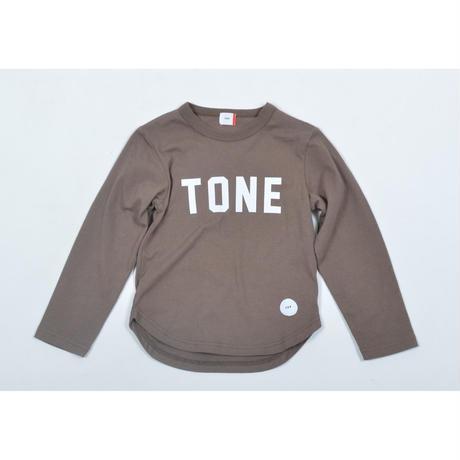 FOV TONE L/S Tシャツ(アッシュブラウン)