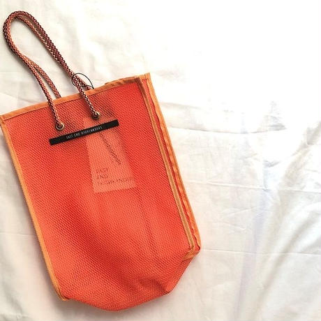 EAST END HIGLANDERS  mesh  mini   shopper(orange)