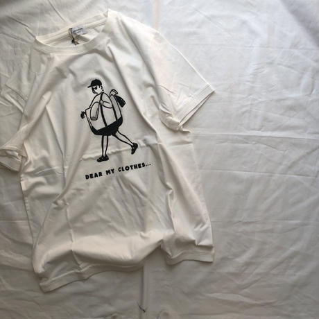 ARCH&LINE OG LAUNRY MAN  TEE(WHITE) FREE
