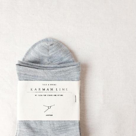 CANCER  蟹座の靴下 23-25cm  /  KARMAN LINE(カーマンライン)