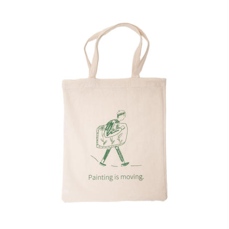 Cotton Bag PAINTING IS MOVING