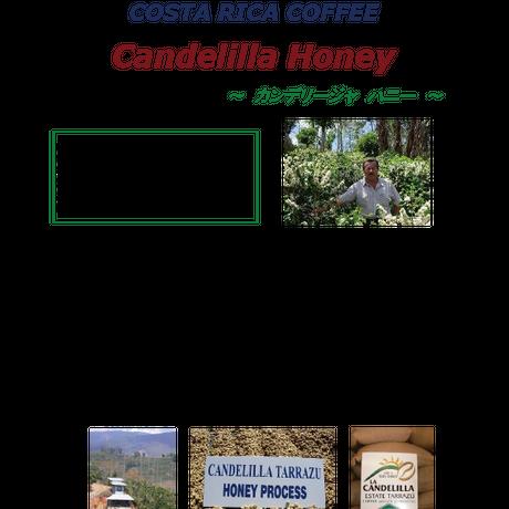 コスタリカ ーラ・カンデリージャ ハニー ー 500g