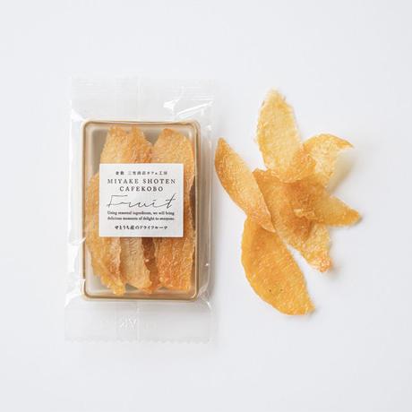 岡山産白桃のドライフルーツ