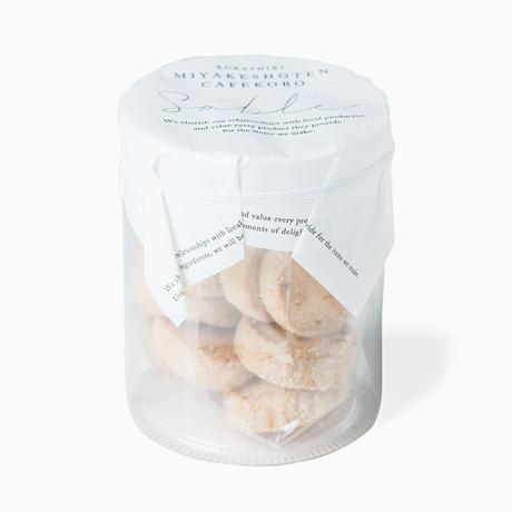岡山白桃とココナッツのサブレ