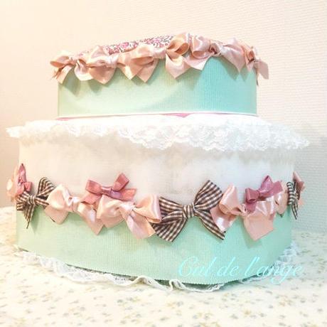ダイパージュケーキ おむつケーキ おしりふきケース ワイプケース