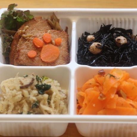 【定期便】玄米菜食セット 玄米なし  (レシピ付)