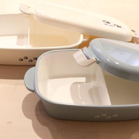 カフェむすび オリジナル お弁当箱(ホワイト)