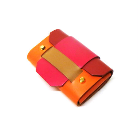 PUZZLE CARD HOLDER / ORANGE