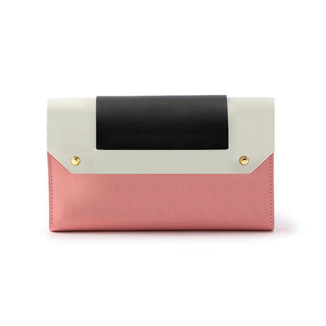 PUZZLE LONG WALLET / PINK