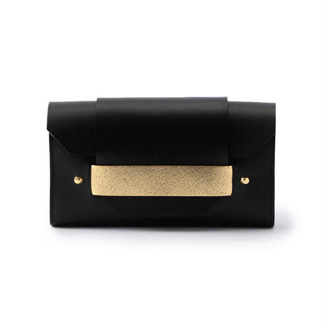 PUZZLE LONG WALLET / BLACK