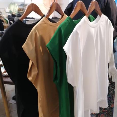 サイドスリットドロップTシャツ
