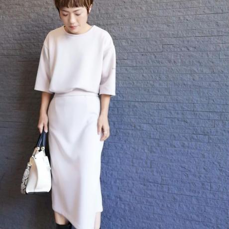 吸水速乾UVカットタイトスカート【WHITE LINE】