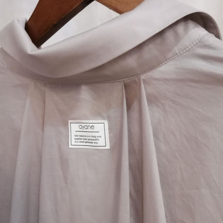 袖リブロングシャツ