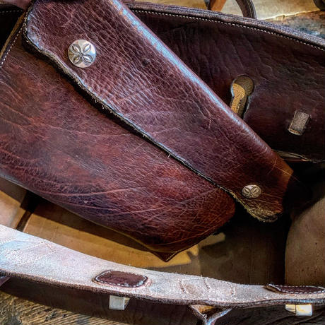 Dutch Leather Company × Japanese Silver Smith MASAYOSHI 【Danny bag】