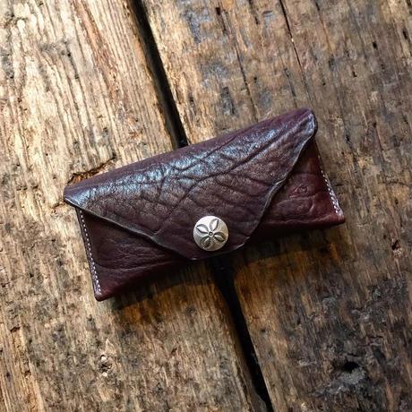 Dutch Leather Company × Japanese Silver Smith MASAYOSHI glasses case