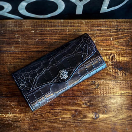 "FUNNY / SMART POCKET ""CROCODILE"" (BLACK)"