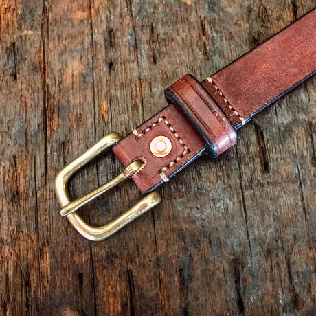 Dutch Leather Company / belt (Wax finich) 25mm