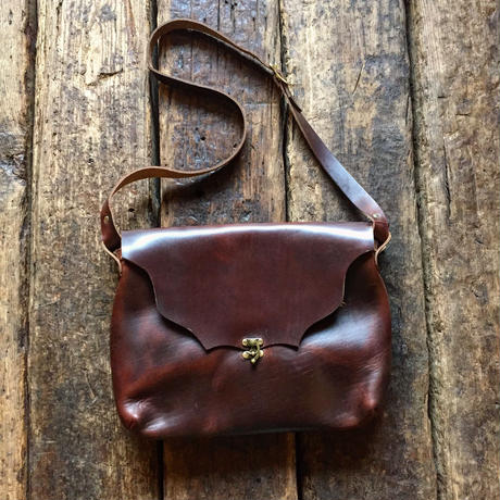 Fernand Lether / Horizontal Latch Pouch (L)