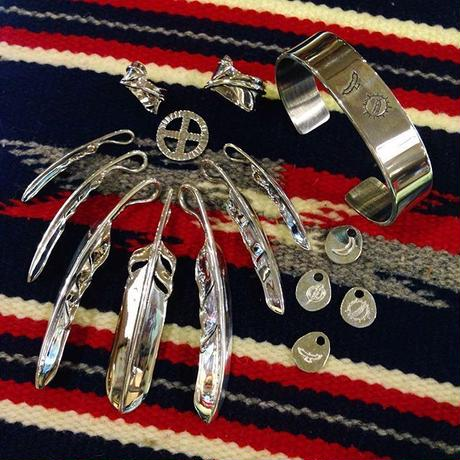 NATIVE SPIRIT / WING FEATHER-RING-M