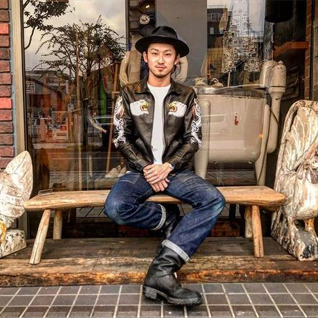 FINE CREEK LEATHERS 【Norfolk / ノーフォーク】BLACK