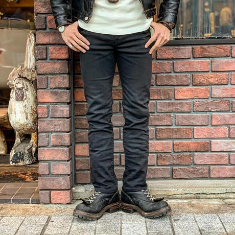 HIGHWAY NINE ハイウェイナイン STRETCH BLACK STRAIGHT(BLACK)