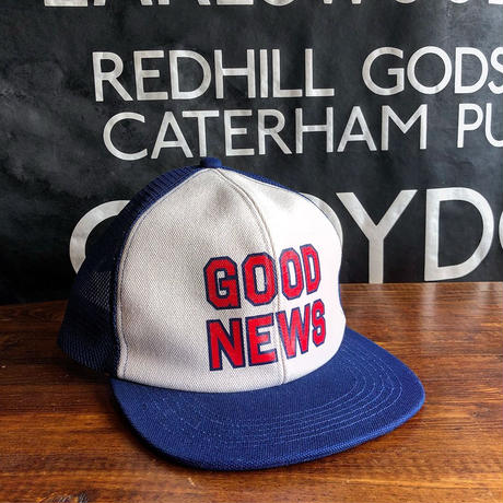 FULLCOUNT / OLD TRUCKER CAP(GOOD NEWS)MADE BY THE H.W.DOG