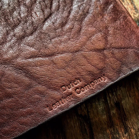 Dutch Leather Company × Japanese Silver Smith MASAYOSHI ノートカバー A6