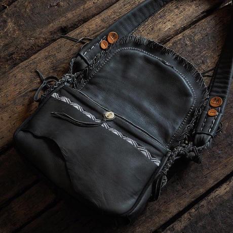 梟唄OWLSONG/  DEER LEATHER SHOULDER BAG (GR Specialorder)