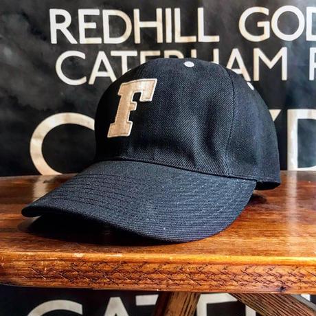 FULLCOUNT / BLACK TWILL F BASEBALL CAP