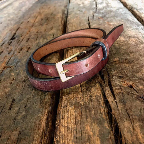 Dutch Leather Company / belt (Wax finich) 20mm