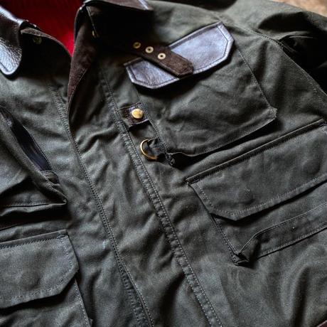 BiburyCourt / Waxed Cotton Fieldjacket