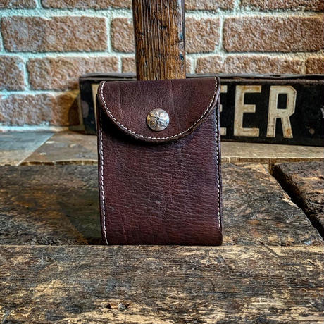Dutch Leather Company × Japanese Silver Smith MASAYOSHI billfold