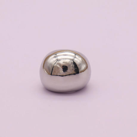 Double ball Ring(Silver) /   2105_RG046