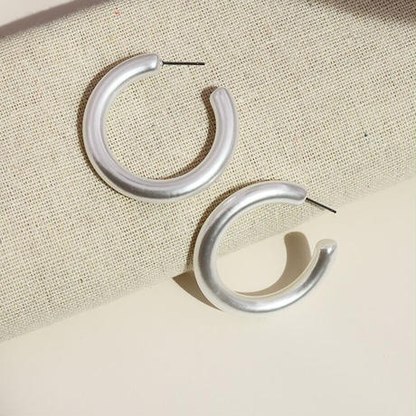 Simulated Pearl Hoop Pierce(Large) /  2102_PR061