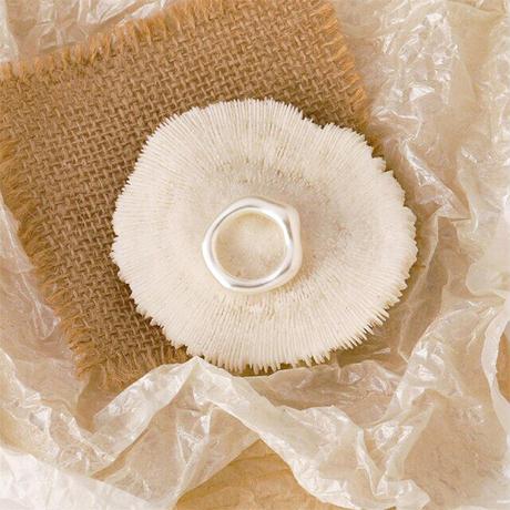 Acrylic Irregular Ring(Pearl) /   2105_RG040