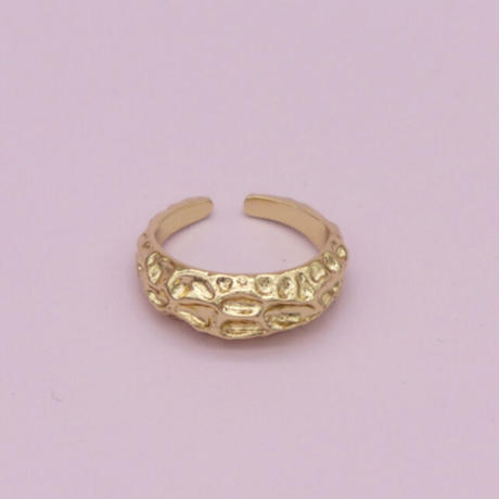 Metal tataki Ring(Gold) /   2105_RG041