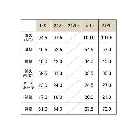 スーパーストレッチ スタンドカラーコート / ブラック / 192-1102-06